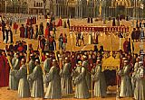 Gentile Bellini Procession in Piazza S. Marco [detail]